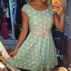 Bonne Chance Collections Mint dress